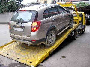 Cứu hộ xe ô tô khi gặp tai nạn